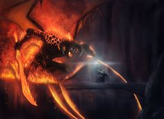 LOTR: Balrog by Arkis