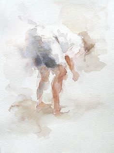 Anne Petty - very light washes #watercolor jd