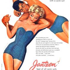 Jantzen 1940-50's Swimwear Ads