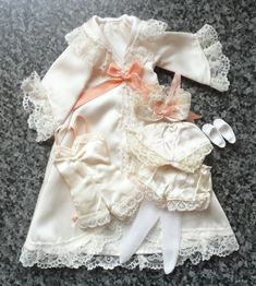 Very rare vintage Sindy 1986 Luxurious Lace 'Emanuel' lingerie near complete Sindy Doll, Bridal Outfits, Flower Girl Dresses, Lingerie, Bride, Luxury, Wedding Dresses, Lace, Ebay