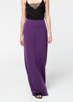 Purple Maxi | MANGO