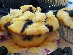 Paula Deen Blueberry Muffins | Leenee's Sweetest Delights: Blueberry Streusal Muffins