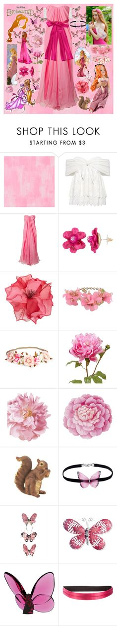 """""""Oh my gosh!"""" by fandom-girl365790 ❤ liked on Polyvore featuring Designers Guild, Sea, New York, Alexander McQueen, Disney, Racil, RED Valentino, Ballard Designs, Zingz & Thingz, National Tree Company and Baccarat"""