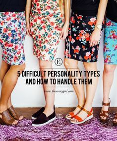Understanding 5 Difficult Personality Types and How to Handle Them #theeverygirl