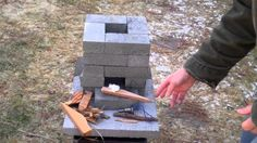 How to build a better brick rocket stove for $10