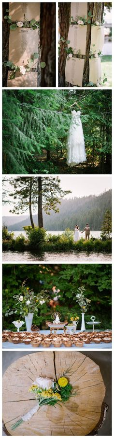 Romantic And Relaxed Lake Wedding Ideas Lake wedding ideas and