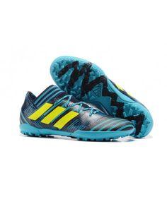 ee0ed3ae Adidas Nemeziz 17.3 TF NA UMĚLÝ POVRCH ACC modrý černá žlutý kopačky