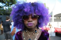 Her purple reign ruled over us all. | Here Are 19 Photos Of The World's Most Beautiful People
