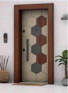 Flush Door Design, Home Door Design, Grill Door Design, Wooden Main Door Design, Small House Interior Design, Bedroom Door Design, Door Design Interior, Bedroom Furniture Design, Brown Interior Doors