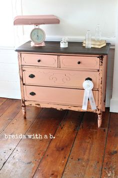 Apron Strings Dresser | Miss Mustard Seeds Milk Paint