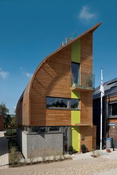 This house in England is designed to maximize its green potential
