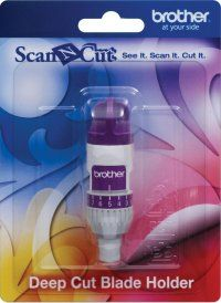 ScanNCut Deep Cut Blade Holder For use with ScanNCut Deep Cut Blade (not included).