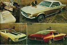 https://flic.kr/p/cWixN3 | 1968 Ford Mustang  Hardtop, Convertible and Fastback