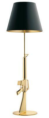 Flos Lounge Gun Stehleuchte / H 169 cm – Gold 18 K – by Starck – Flos