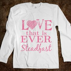 """Love that is ever steadfast."" A quote from the Delta Zeta creed. #deltazeta"