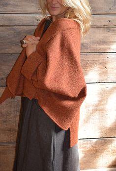 Tokyo Jacket in felted wool £265.