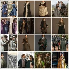 """PLZ RT @SamHeughan @caitrionambalfe @Writer_DG    GIVE SHOUT OUT @draiochta14   4 COSTUMES in  @Outlander_Starz"""