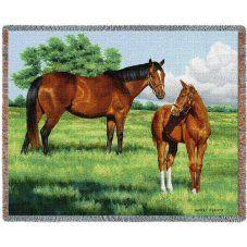 My Pride Horses Throw