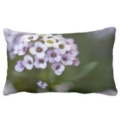 Flowery Pillow from Florals by Fred #zazzle #gift #photogift
