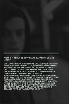 Elliot Alderson, Mr. Robot (s1.e1)