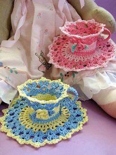 PDF Crochet Pattern Dainty Little Doilies  13 different