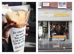 I love crepe affaire, London