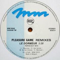 PLEASURE GAME - Le Dormeur (Remixes)