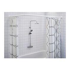GÖMMAREN Universal shower curtain rod - IKEA