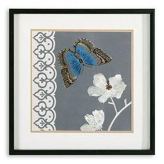 """""""Butterfly Garden I"""" Framed Wall Art"""