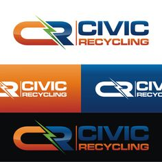 Civic Recycling - Modern Logo for Recycled Electrical Parts Company