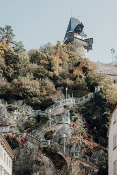 Genieße den Ausblick vom Grazer Schloßberg