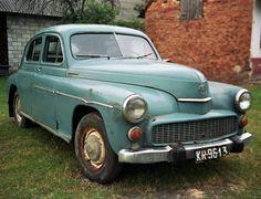 (Fabrika Samhchodh'W Osobowych di Varsavia)  FSO Warszawa M20 - First and  only car owened by Jean Paul II -