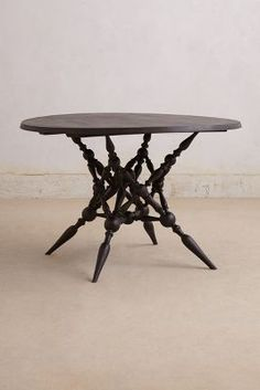 Notched Vines Dining Table