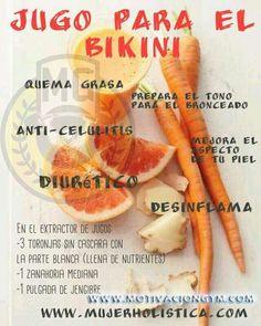 #jugos #verano #bronceado   #quemagrasa #celulitis