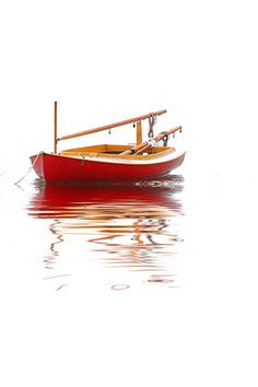 Red Catboat