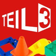 TEIL3 - Die 3D-Druckerei - TEIL3 · Schulung / Workshop 3D-Drucken, 3D-Modellierung, 3D-Software