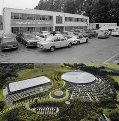 """Before and after"" McLaren factory"