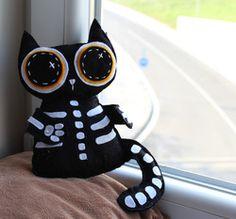 Halloweenska mačka