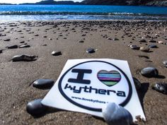 The new sticker for cars! Ilovekythera.com