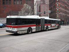 PAT Ikarus bus at Liberty&Smithfield