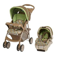 Baby Stroller Travel Systems.    Graco LiteRider Baby Stroller & SnugRide Car Seat Travel System - Zooland.  Price: $169.99