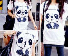 Декор футболки - Panda Shirt - Ideas of Panda shirt #PandaShirt -   My daughter would love this Panda shirt Panda Love, Cute Panda, Gyaru, Cute Shirts, Kids Shirts, Panda Kawaii, Rockabilly, Cyberpunk, Harajuku