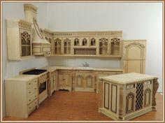 Chef Julias Kitchen Set, Unfinished, 12pcs