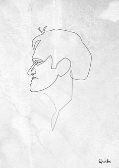 One Line Portraits by Quibe - UltraLinx