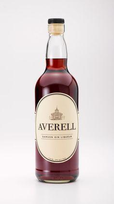Averell — label design - Tim Tomkinson Illustration