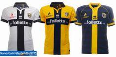 Nuevas camisetas de futbol 2014 2015 2016: Camiseta Serie A 2014 2015:Camiseta PARMA Errea 2014 2015