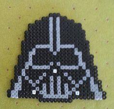 Darth Vader Star Wars hama mini beads by Jose Balboa