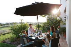 Enjoying the perks of ownership at one of Terranea's beautifully appointed Villas. - TerraneaLife