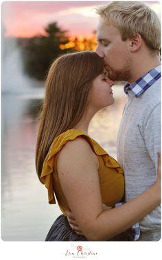 Sunset engagement #Photography #Ecrphotography #EngagementPhotos