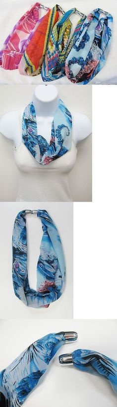 Mixed Lots 64511: Wholesale 12 Pcs Magnetic Scarf Necklaces Mixed Prints Sheer Fabric Design New -> BUY IT NOW ONLY: $42.0 on eBay!